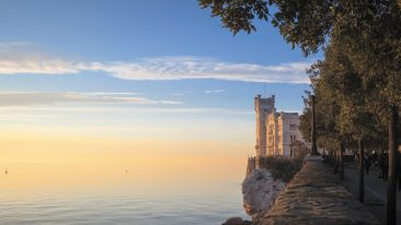 cosa vedere a Trieste: il castello di Miramare
