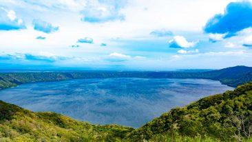 L'Apoyo Lagoon, in Nicaragua