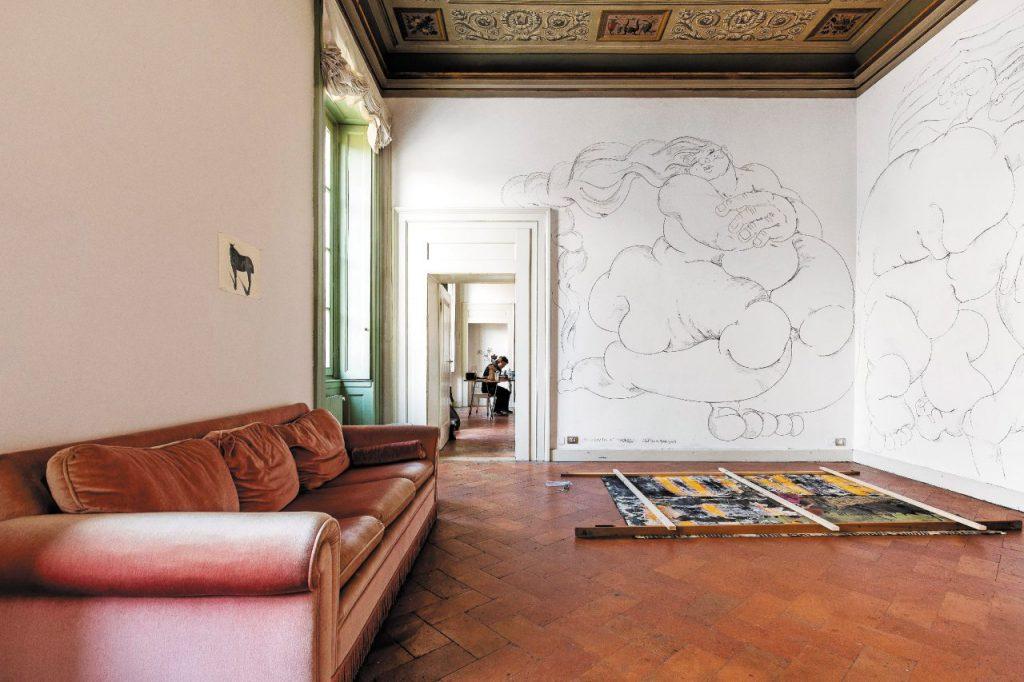Palazzo Monti, residenza d'artista a Brescia