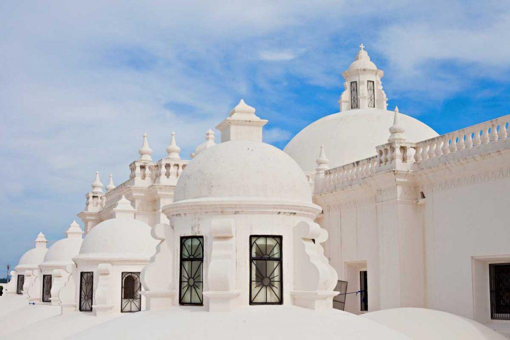 La cattedrale bianca di Leon, in Nicaragua