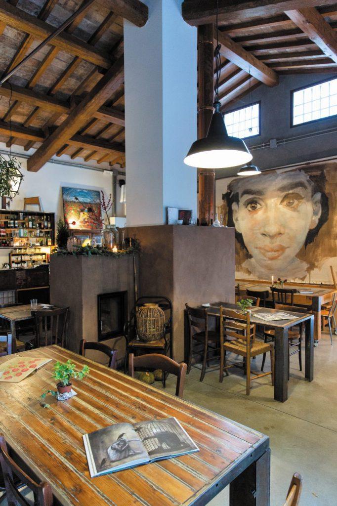 Dove mangiare tortellini e cappelletti: Il Filatoio, centro culturale e ristorante