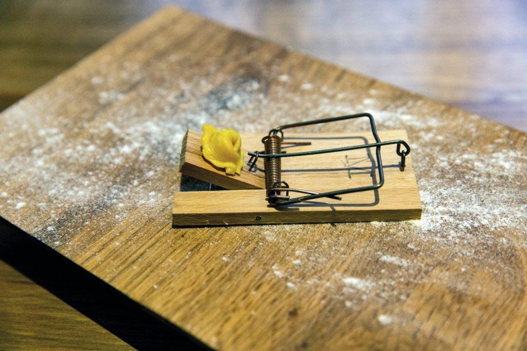 Il ristorante Marta in Cucina di Reggio Emilia propone il cappelletto crudo sulla trappolina.