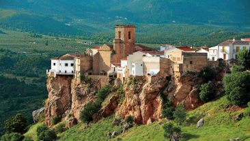 Il villaggio di Hornos, in Andalusia