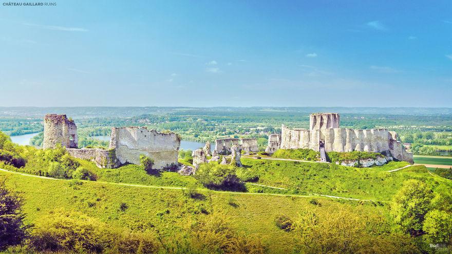 Château Gaillard, Francia
