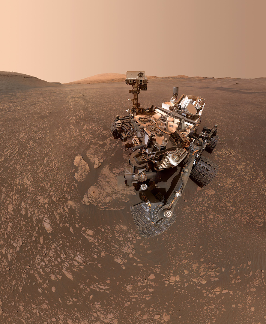 Altri viaggi: i selfie più recenti da Marte del rover Curiosity