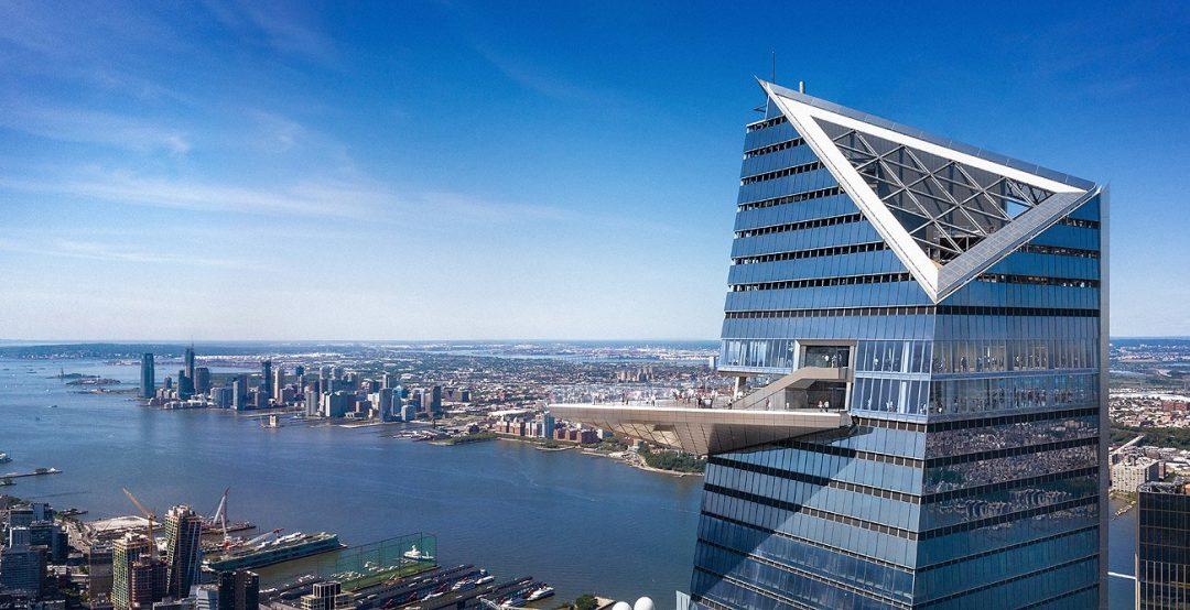 """La vista su NY da """"Edge"""", la terrazza più alta dell'emisfero occidentale"""