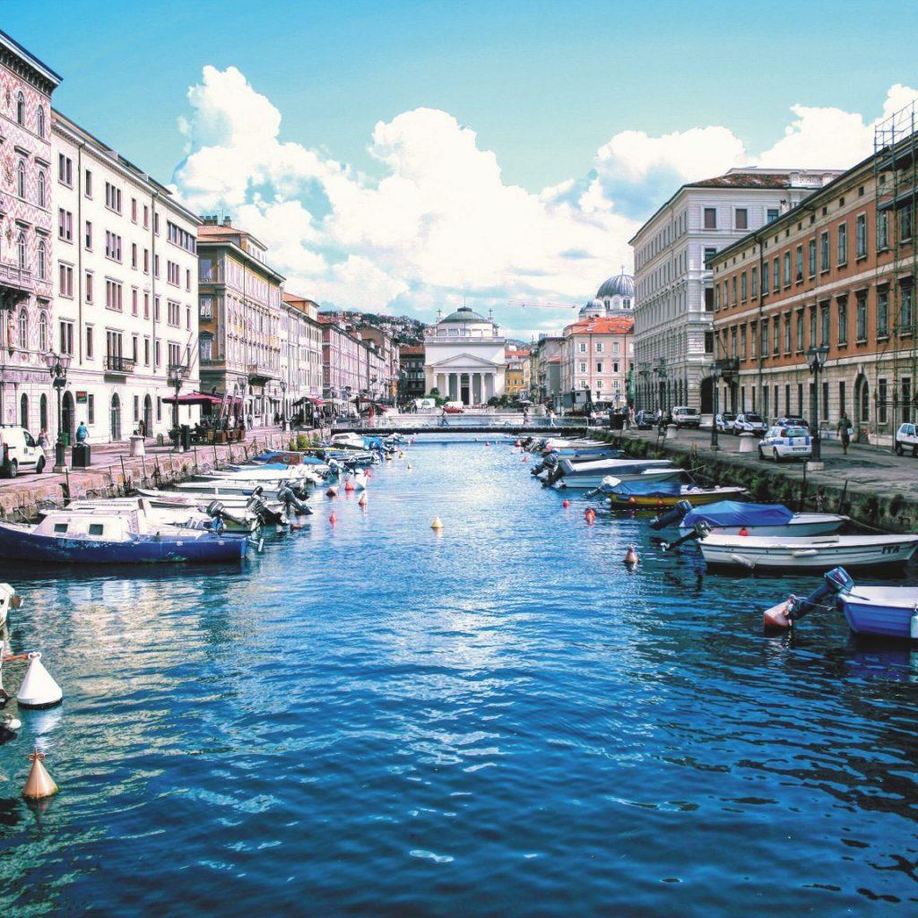 Cosa vedere a Trieste: il Canal Grande