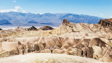 Viaggio in California on the road: tappa a Zabriskie Point