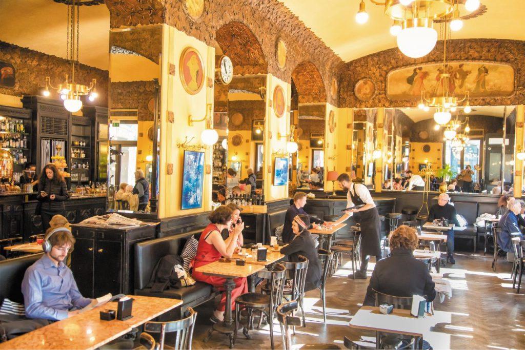 Cosa vedere a Trieste: l'Antico caffè San Marco