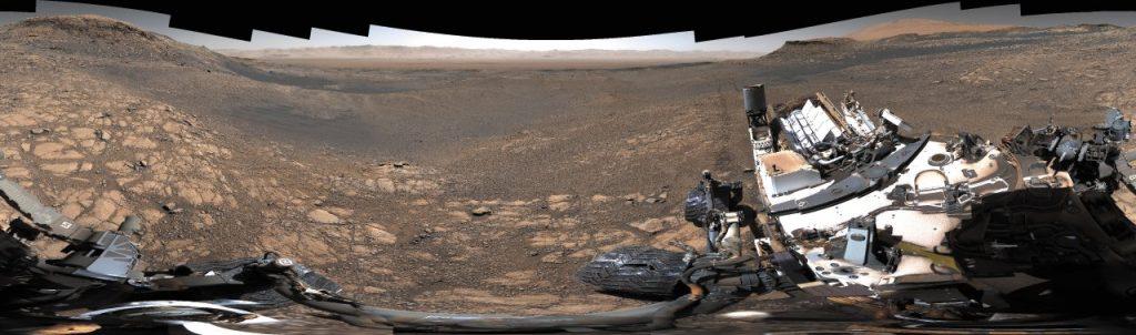 Panorama di Marte