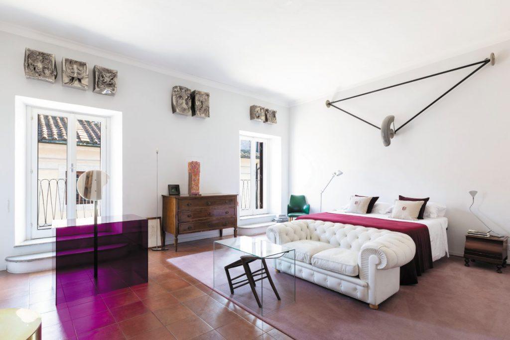 Uno degli appartamenti proposti da The Grand House a Roma