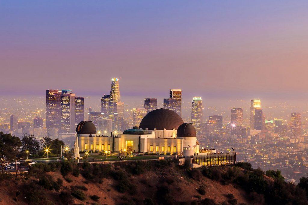 Da visitare in una vacanza ad aprile il Griffith Observatory a Los Angeles