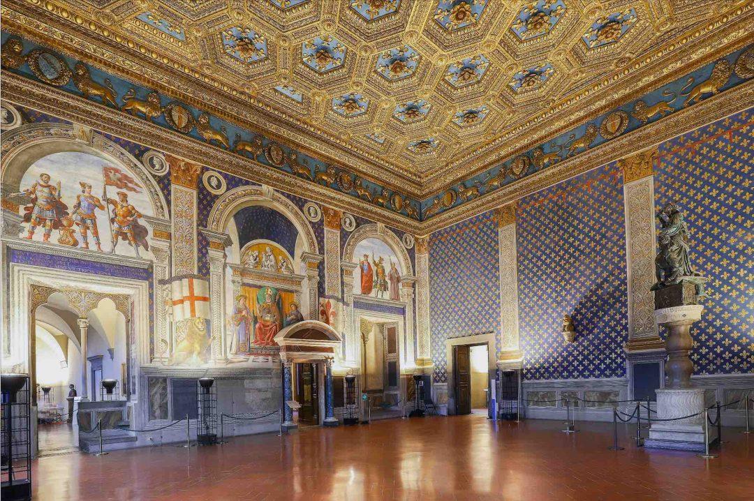 Palazzo Vecchio - Sala dei Gigli - ph. Mattia Marasco