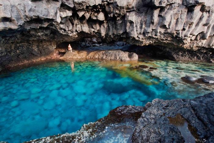 vacanze ad aprile al mare: il Charco Azul alle Canarie