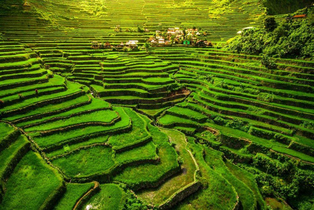 le risaie di Batad, uno dei posti da vedere ad aprile a Luzon, nelle Filippine