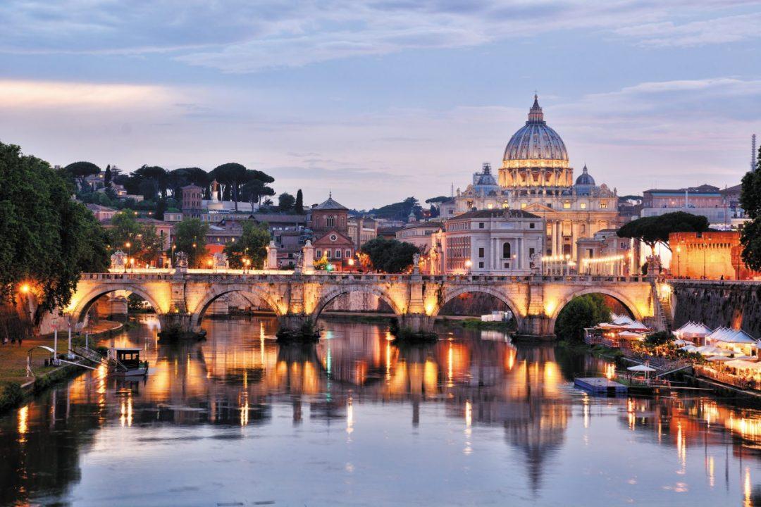 ponte Sant'Angelo Roma