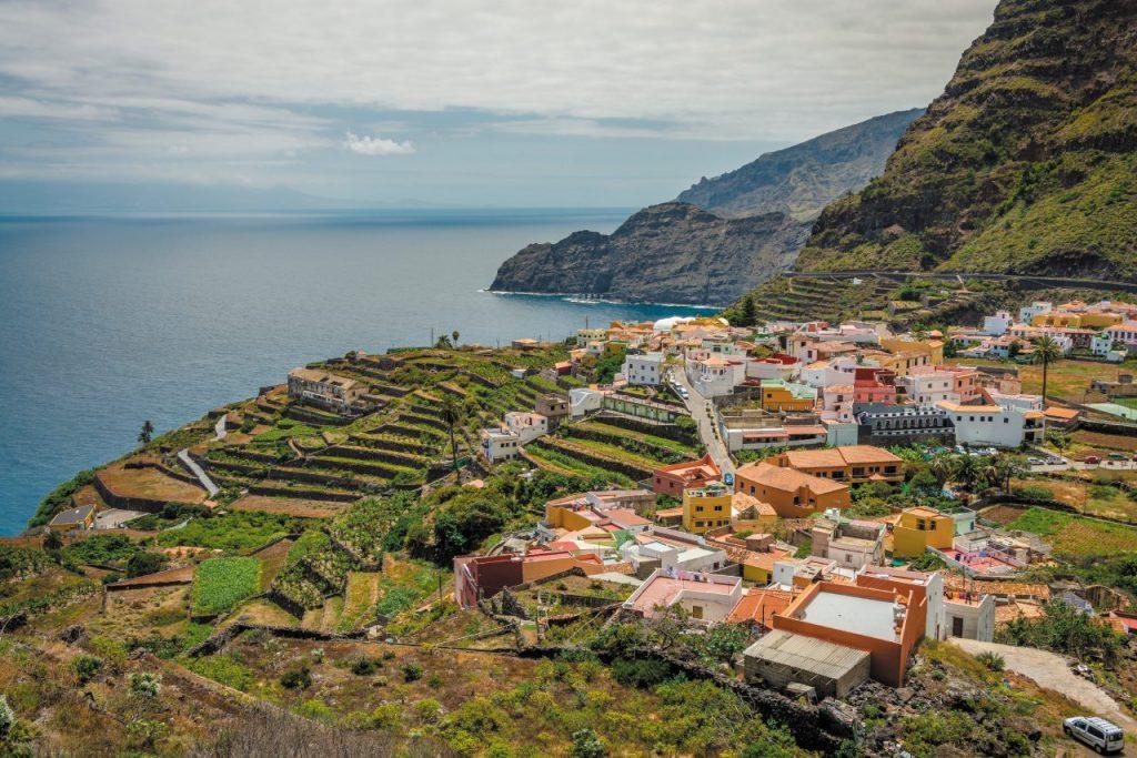 La Gomera, Canarie: il colorato borgo di Agulo