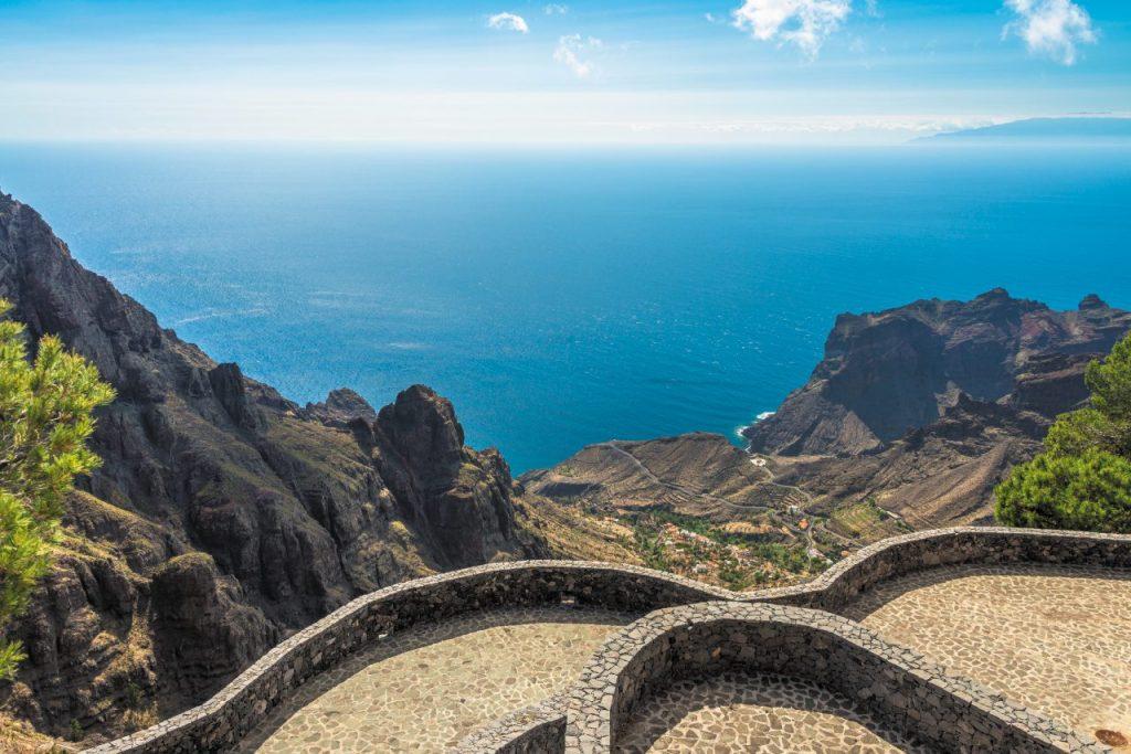 La Gomera, Canarie: Mirador Ermita Del Santo La Gomera
