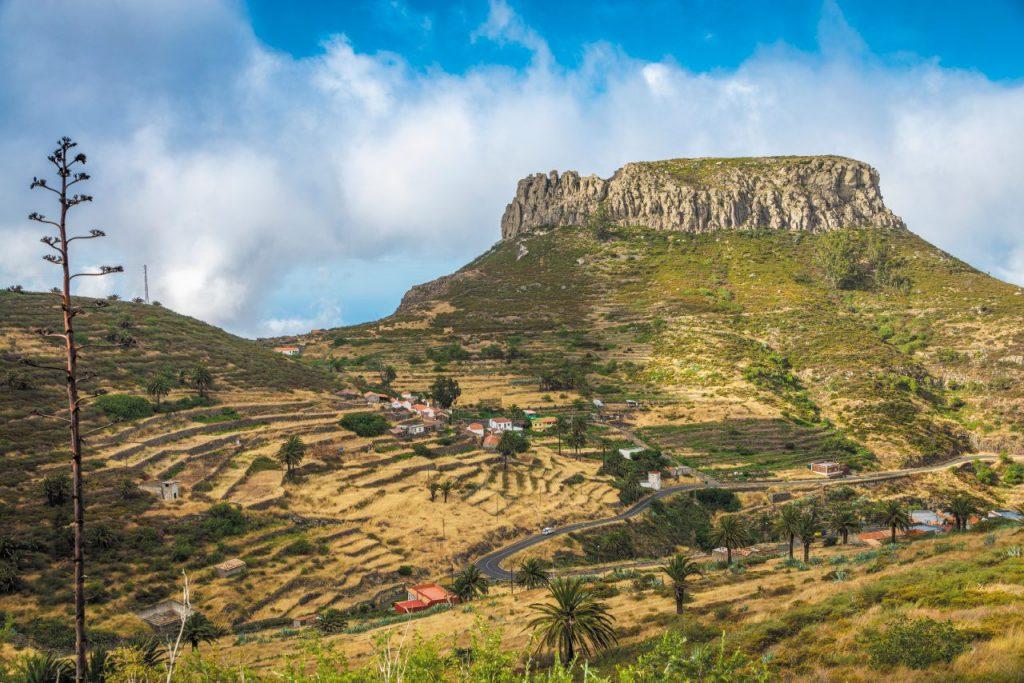 La spettacolare Fortaleza de Chipude, a La Gomera.