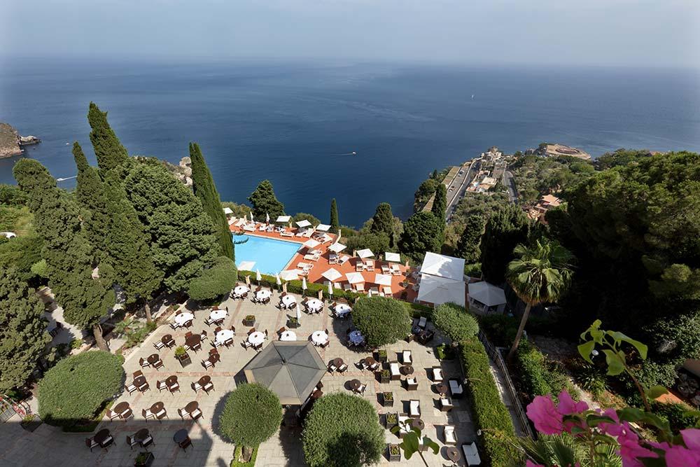 Il Grand Hotel San Pietro a Taormina, del gruppo Lindbergh Hotels & Resort