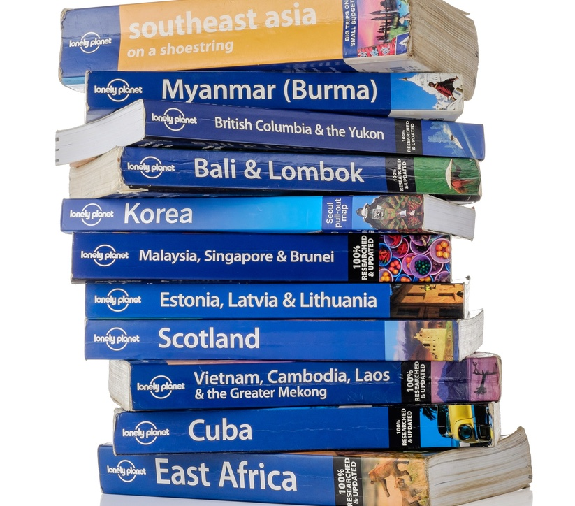 Le guide Lonely Planet in cirsi