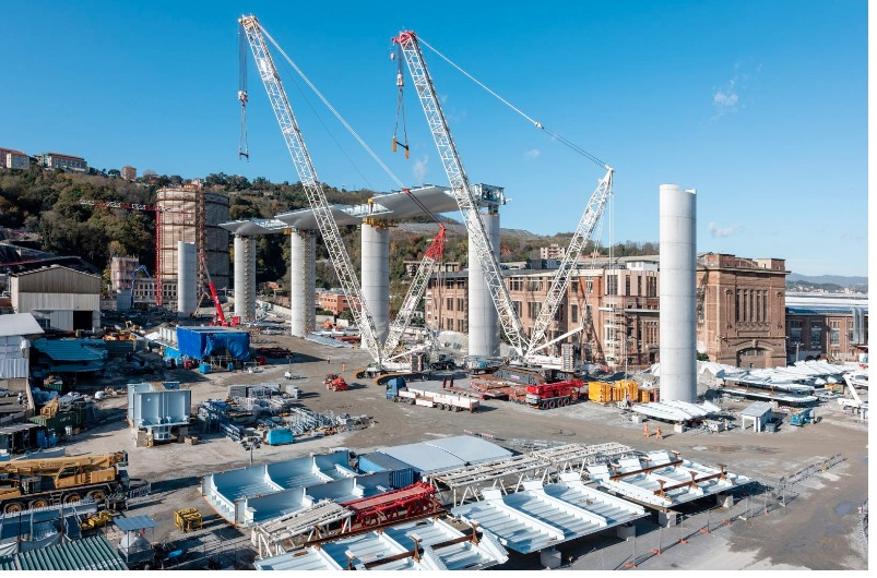 Genova, le immagini del nuovo ponte