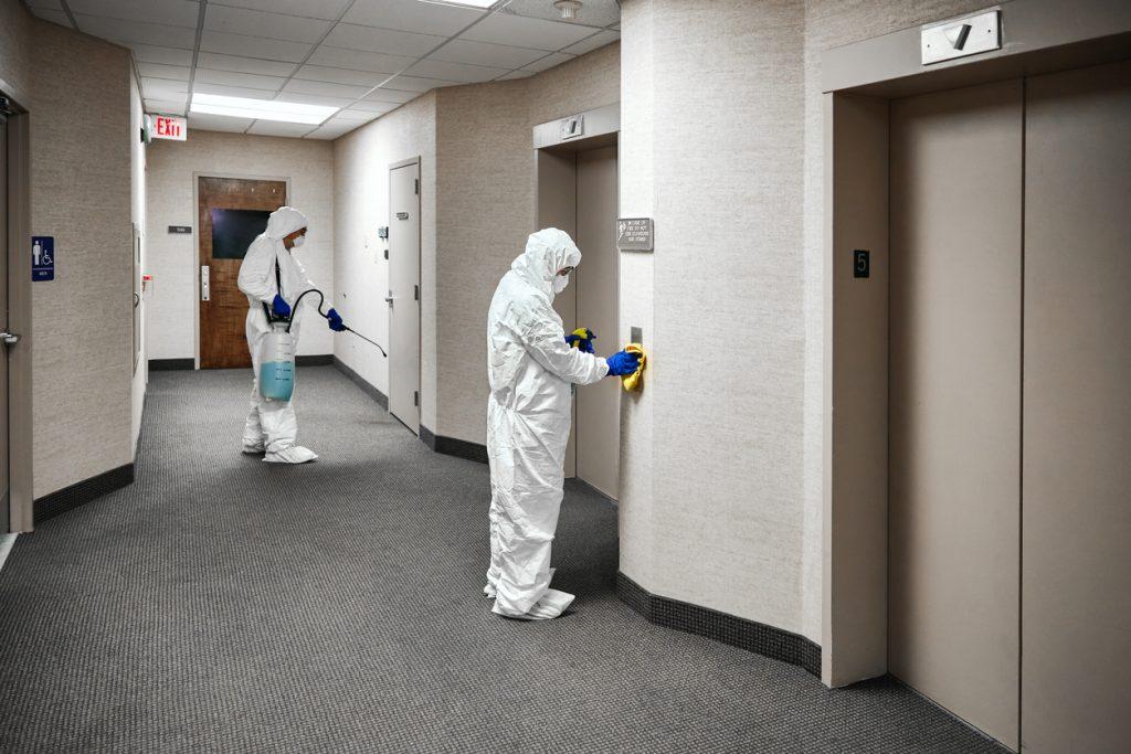Sanificazione in hotel post Covid-19