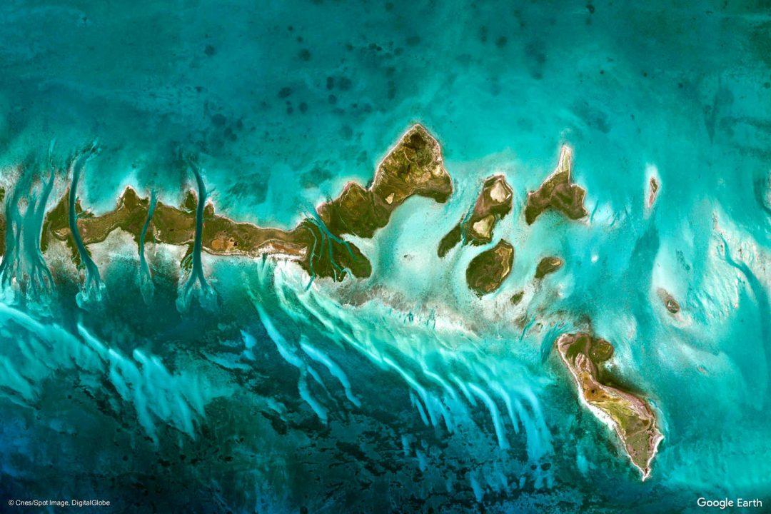 """Earth Day: viaggio in giro per il mondo con Google Earth """"mi sento fortunato"""". Qui Cuba vista dall'alto"""