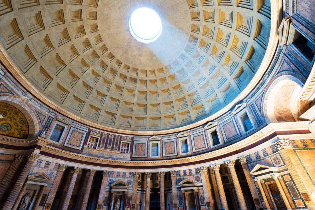 Gran Virtual Tour Mibact: Il Pantheon, a Roma (ph. iSotck)