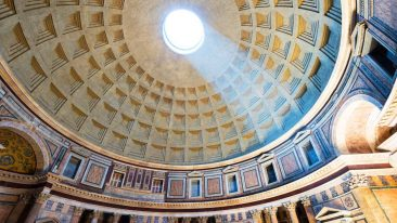 Gran Virtual Tour Mibact: Il Pantheon, a Roma (ph. iSotck)