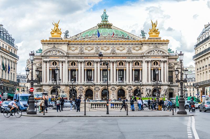 Palais Garnier, Parigi
