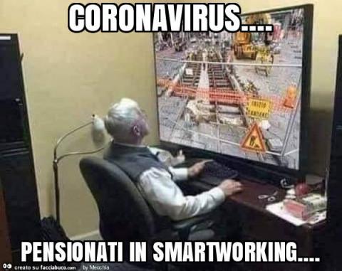 lavoro in smartworking dei pensionati