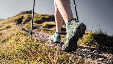 Scarponi per cammini, trekking, hiking per uomo e per donna
