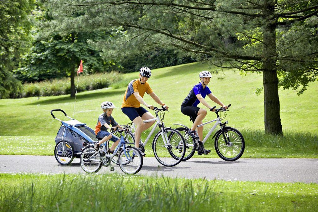 cicloturismo Tutta la famiglia in sella a una bici