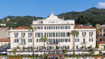 Grand Hotel Alassio spiaggia e facciata