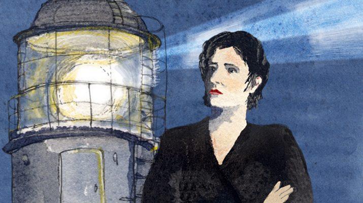 Foto Lucia e il faro di Ischia: il racconto per immagini della nostra urban sketcher