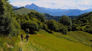 In bici nel Triangolo Lariano