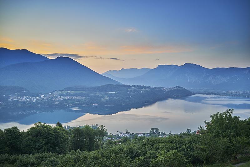 Trentino, lago di Caldonazzo