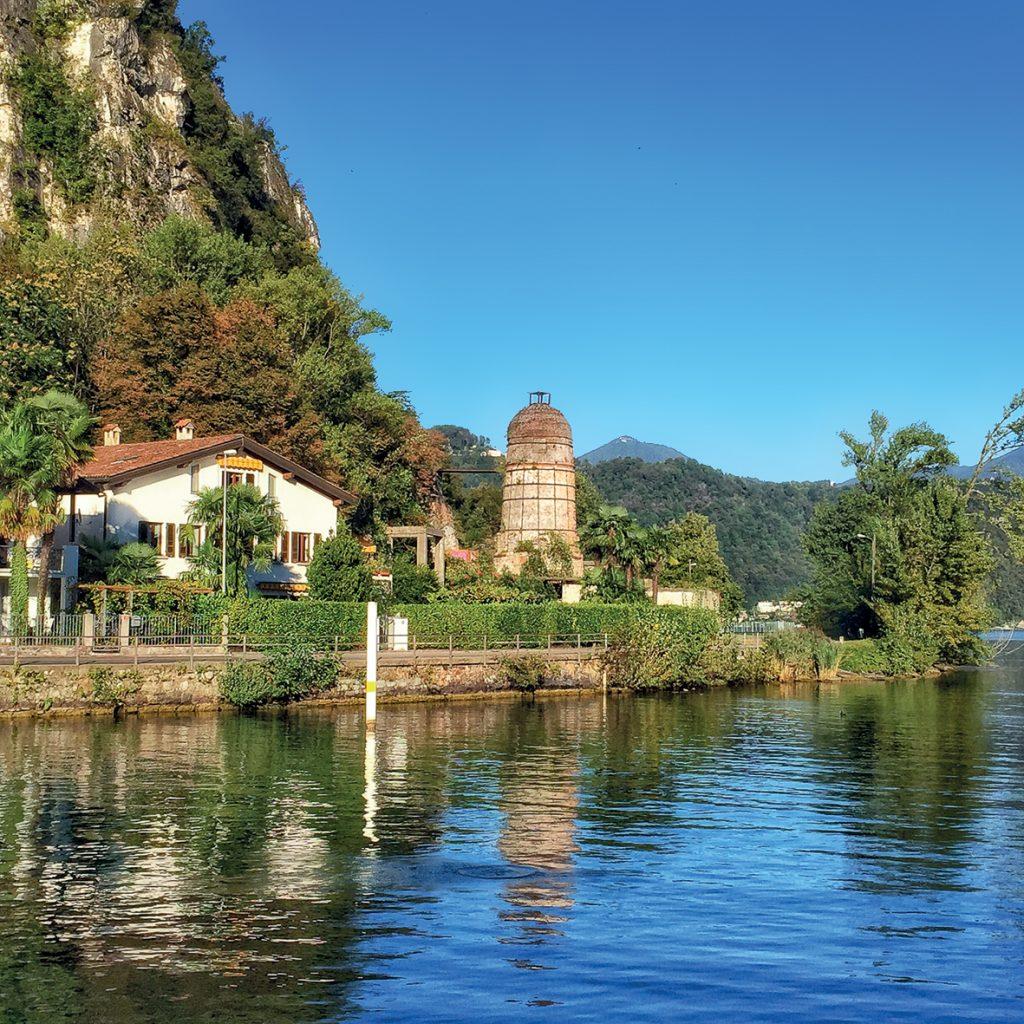 Via Francisca del Lucomagno, tappa a Lavena Ponte Tresa sul Lago Ceresio