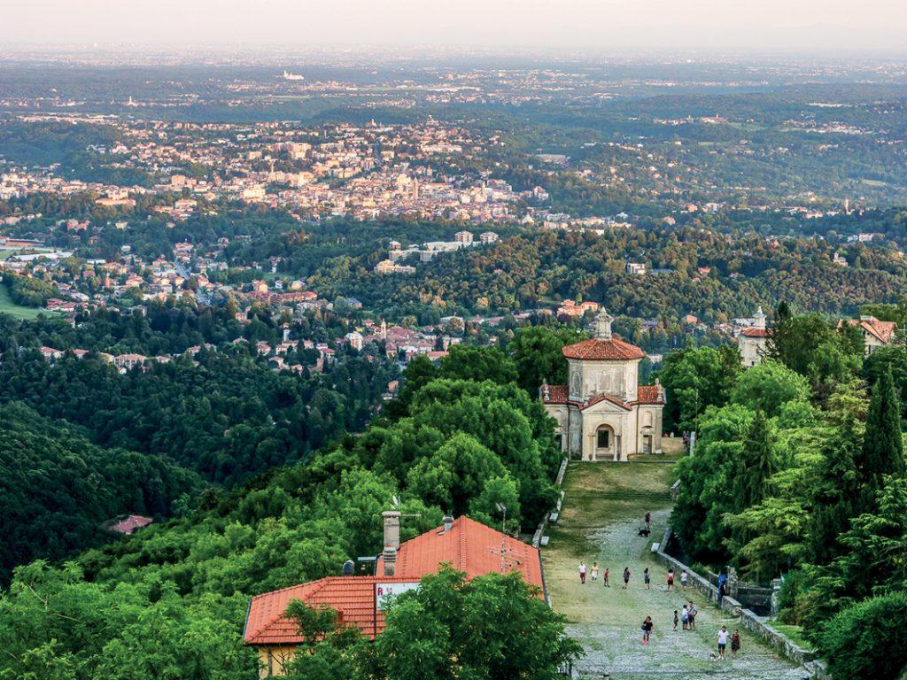 Via Francisca del Lucomagno, tappa al Sacro Monte di Varese