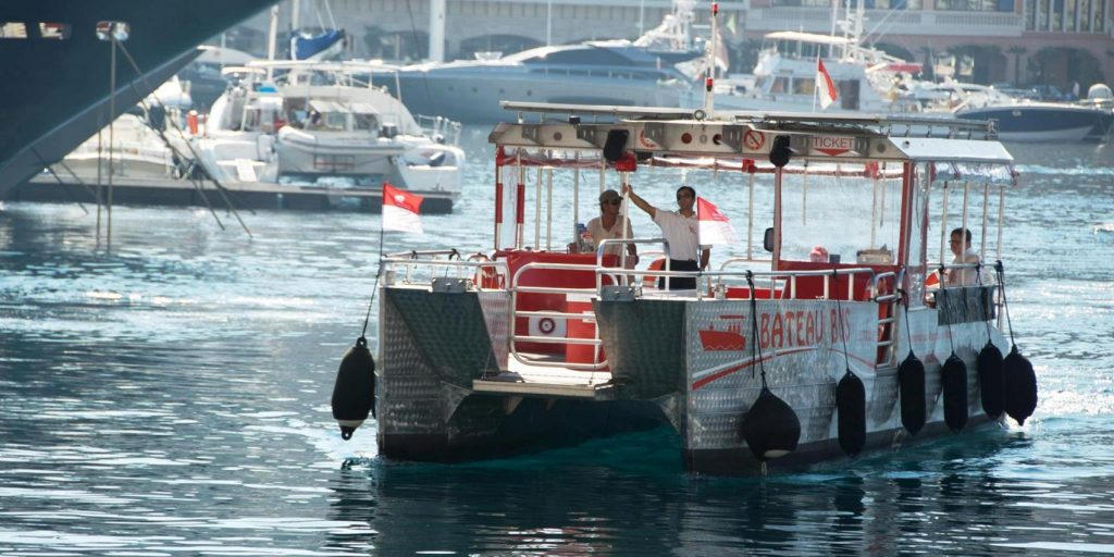 bateau bus a monaco