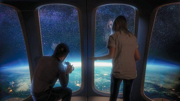 La capsula per il turismo spaziale Space Perspective