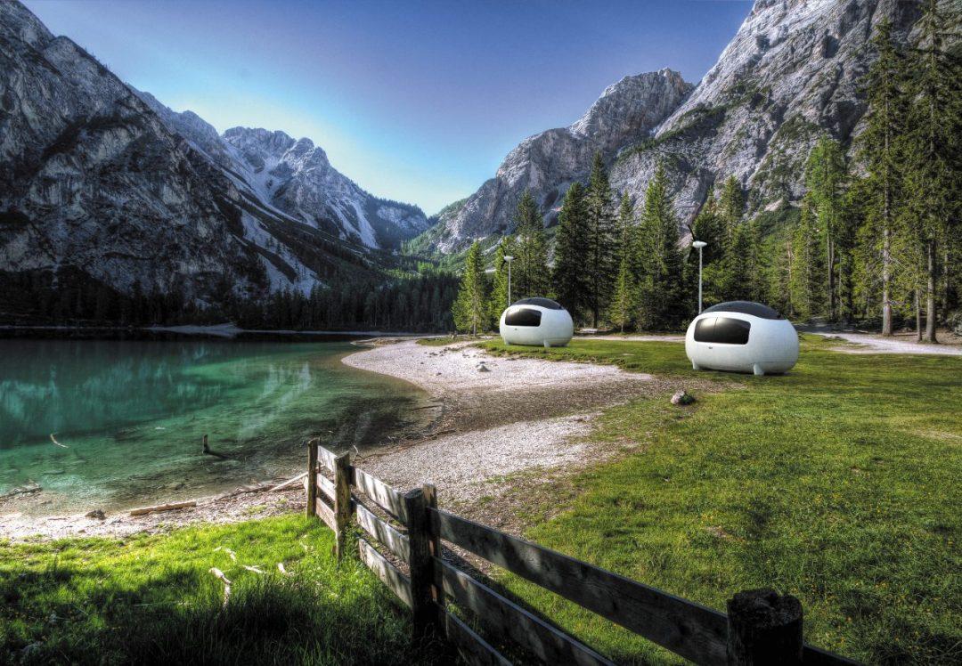 Vacanze nel verde: Space, la micro roulotte ecologica e Hi-Tech