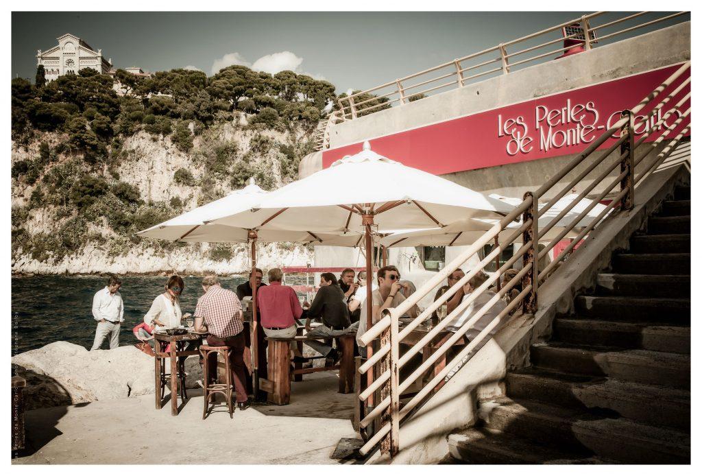 Il ristorante sul mare Les Perles