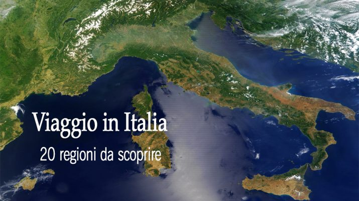 Italia, Itinerari e Luoghi