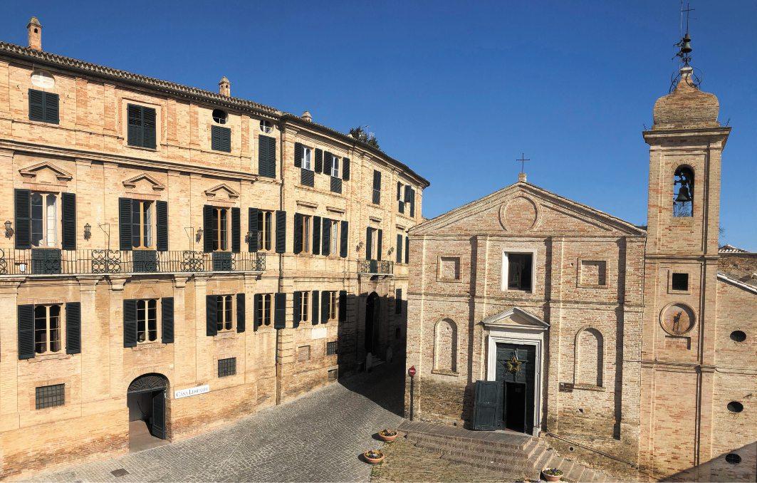 Palazzo Leopardi, a Recanati (giacomoleopardi.it)
