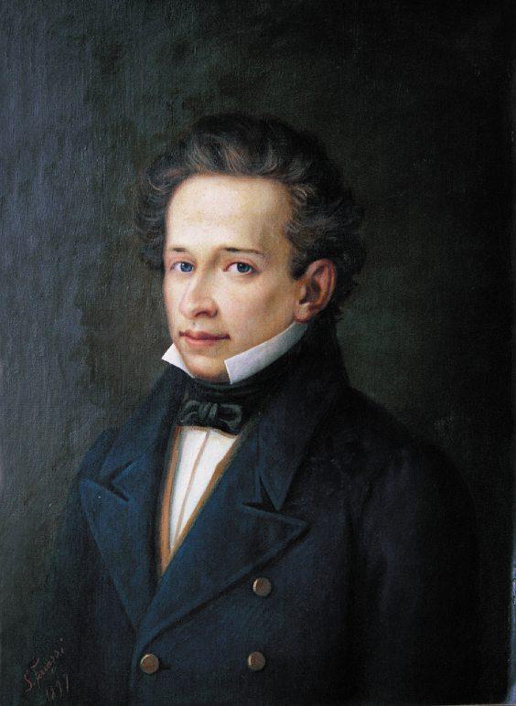Un ritratto di Giacomo Leopardi (giacomoleopardi.it)