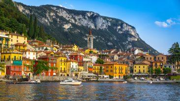 Varenna, cittadina del Lago di Como, in Lombardia