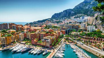 Vacanze a Monaco: vista del mare di Monte Carlo