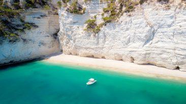 spiagge del Gargano le più belle e bianche